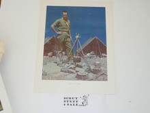 Norman Rockwell, The Scoutmaster Print, 11x14 On Heavy Cardstock