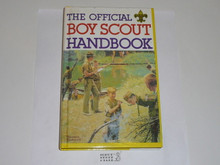 1988 Boy Scout Handbook, Ninth Edition, Eleventh Printing, Hardbound printing, MINT condition, Last Norman Rockwell Cover