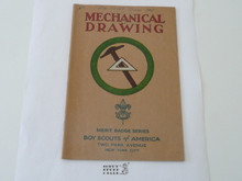 Mechanical Drawing Merit Badge Pamphlet , 3-36 Printing