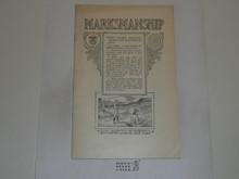 Marksmanship Merit Badge Pamphlet, 1920 Printing
