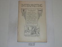 Interpreting Merit Badge Pamphlet, 1923 Printing