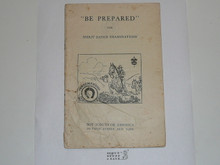 Horsemanship Merit Badge Pamphlet, 1920