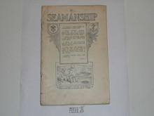 Seamanship Merit Badge Pamphlet, 1920