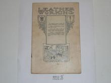 Leather Working Merit Badge Pamphlet, 1922