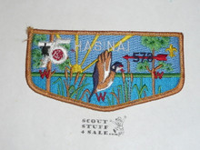 Order of the Arrow Lodge #578 Hasinai s9 Flap Patch