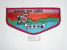 Order of the Arrow Lodge #542 Amad Ahi s7 Flap Patch - Needle Break