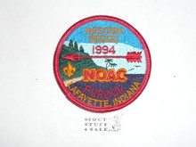 National Order of the Arrow Conference (NOAC), 1994 Western Region Patch