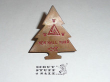 Order of the Arrow Lodge #252 Siwinis 1950's VIGIL MEMBER Neckerchief Slide