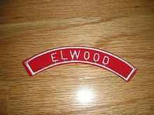 ELWOOD Red & White Community Strip - Scout