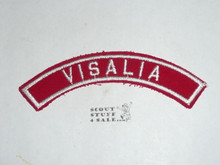 VISALIA Red/White Boy Scout Community Strip