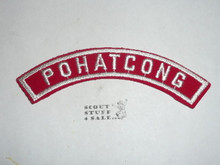 POHATCONG Red/White Boy Scout Community Strip