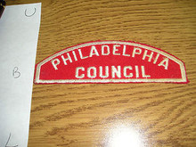 Philadelphia Red/White Council Strip - Scout