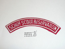"Schiff Scout Reservation, RWS ""SCHIFF SCOUT RESERVATION"" Patch"