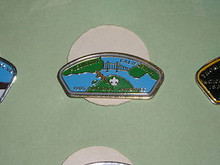 Piedmont Council CA 1985 NJ JSP Shaped Pin - Scout