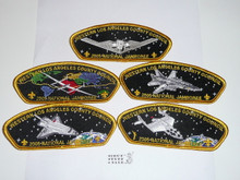 2005 National Jamboree JSP - Western Los Angeles County Council - Set of 5 Different