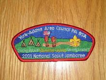 2001 National Jamboree JSP - York-Adams Area Council