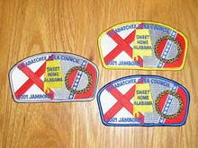 2001 National Jamboree JSP - Tukabatchee Area - 3 Diff