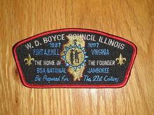 1997 National Jamboree JSP - W.D. Boyce Council