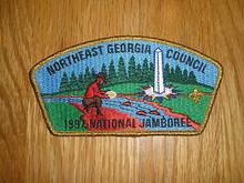 1997 National Jamboree JSP - Northeast Georgia Council