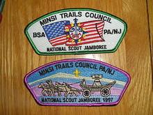 1997 National Jamboree JSP - Minsi Trails Cncl - 2 Diff
