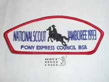 1993 National Jamboree JSP - Pony Express Council