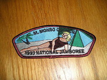 1993 National Jamboree JSP - M. Monro Council - Spoof
