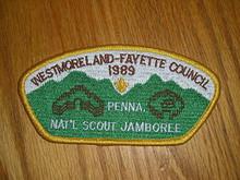 1989 National Jamboree JSP - Westmoreland-Fayette Cncl