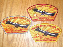 1989 National Jamboree JSP - Ventura County Cncl-3 Diff