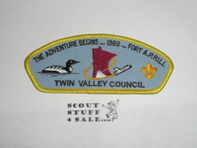 1989 National Jamboree JSP - Twin Valley Council