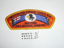 1985 National Jamboree JSP - Westchester-Putnam Council