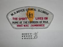 1985 National Jamboree JSP - W.D. Boyce Council