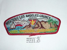 1985 National Jamboree JSP - Western Los Angeles County Council