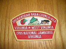 1985 National Jamboree JSP - Shenandoah Area Council