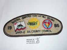 1985 National Jamboree JSP - Santa Clara County Council