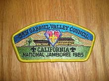 1985 National Jamboree JSP - San Gabriel Valley Council