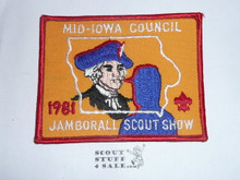 1981 National Jamboree JSP - Mid-Iowa Council