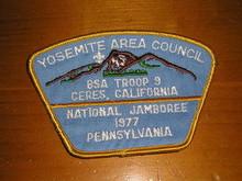 1977 National Jamboree JSP - Yosemite Area Council