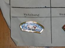 Watchung Council CSP Shaped Pin - Scout