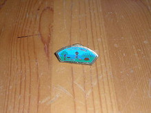Two Rivers Council CSP shaped Pin - Scout