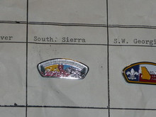 Southern Sierra Council CSP Shaped Pin - Scout