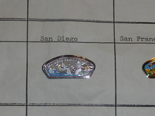 San Diego County Council CSP Shaped Pin - Scout