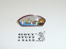 San Diego County Council CSP Shape Pin