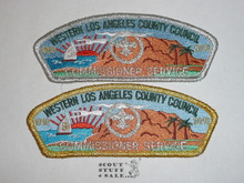 Western L.A. County Cncl sa38/sa39 COMMMISSIONER CSP 3&4, 2010 100th Anniv
