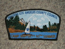 Western Los Angeles County Council sa20 CSP - 2006 Camp Whitsett Commemorative 60th Anniversary