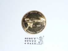 1986 Orange County Council Scout Service Center Coin / Token
