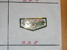 Walika O.A. Lodge #228 Flap Shaped Pin - Scout