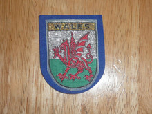 Wales - Old Souvenir Travel Patch