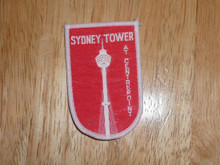 Sydney Tower - Old Souvenir Travel Patch