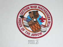 Section / Area W4B Order of the Arrow Patch, 1980's