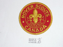Rover Scouts of Canada Service Patch